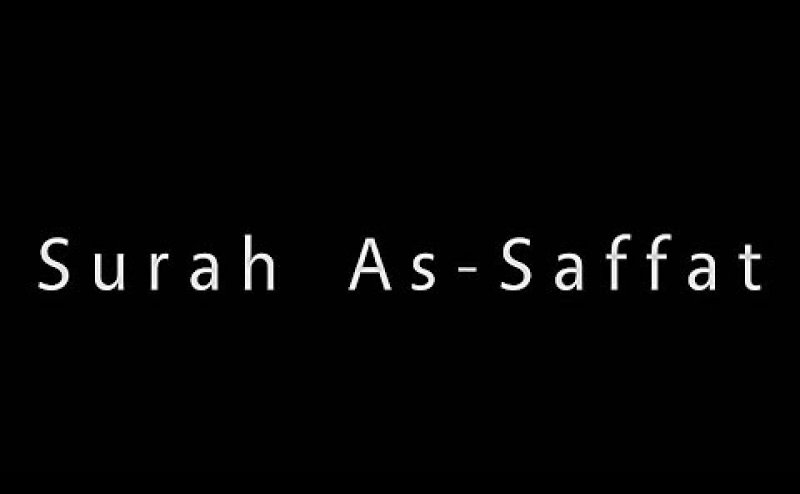 Surah As Saffat