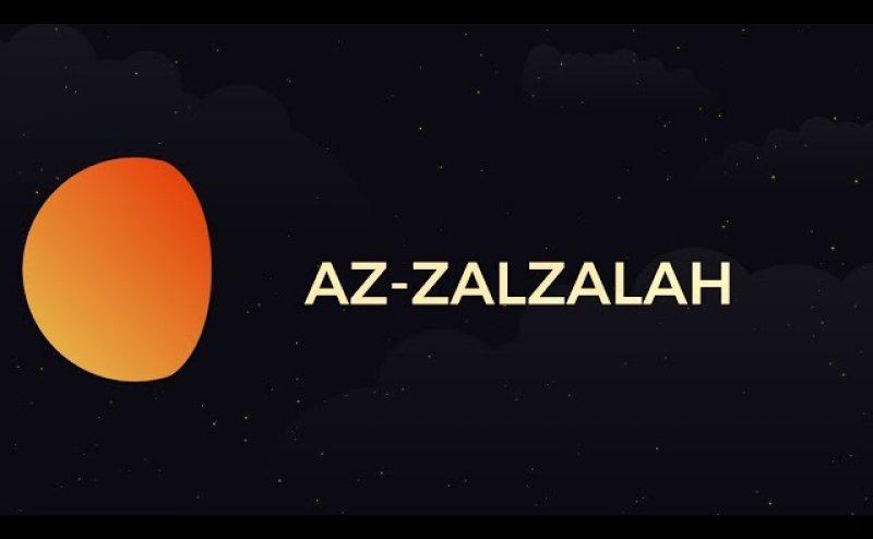Surah Az-Zalzalah Qari Basit