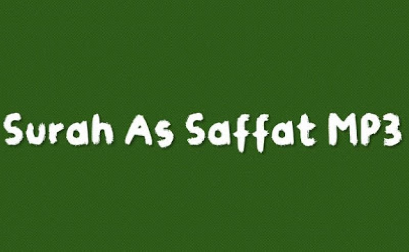 Surah Saffat MP3 Listen Online