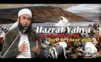 Hazrat Yahya Ko Jab Yahudiyon Ne Aare Se Cheer Diy
