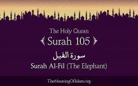 Surah Fil Tilawat Maher al Mueaqly