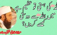 Allah Ki Dosti Maulana Tariq Jameel