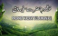 Hazrat Suleman Story