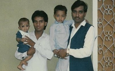Khursheed Ahmed and his younger brother Shafiq Ahmed